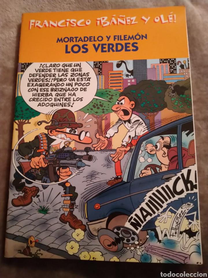 MORTADELO Y FILEMÓN. LOS VERDES, FRANCISCO IBAÑEZ Y OLÉ, EDICIONES B 2001. (Tebeos y Comics - Bruguera - Ole)