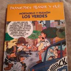 Tebeos: MORTADELO Y FILEMÓN. LOS VERDES, FRANCISCO IBAÑEZ Y OLÉ, EDICIONES B 2001.. Lote 194727671