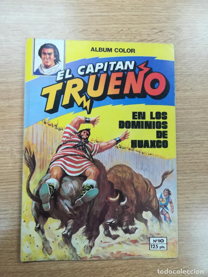 CAPITAN TRUENO #10 EN LOS DOMINIOS DE HUAXCO (Tebeos y Comics - Bruguera - Capitán Trueno)