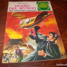 Tebeos: DUEÑO DEL MUNDO, JULIO VERNE. JOYAS LITERARIAS JUVENILES Nº 114 BRUGUERA 2ª ED. 30.5.77. Lote 194732068