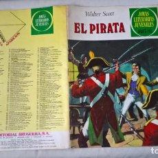 Tebeos: COMIC: JOYAS LITERARIAS JUVENILES. Nº 6. EL PIRATA. WALTER SCOTT. Lote 194732166