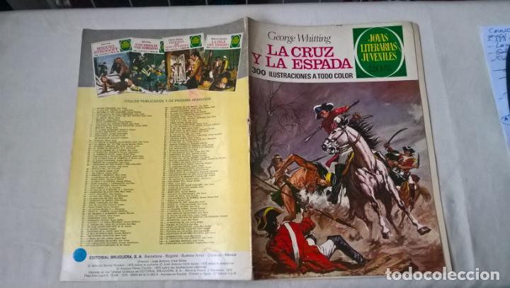 COMIC: JOYAS LITERARIAS JUVENILES Nº 35. LA CRUZ Y LA ESPADA. GEORGE WHITTING (Tebeos y Comics - Bruguera - Joyas Literarias)