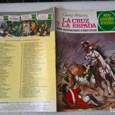 Tebeos: COMIC: JOYAS LITERARIAS JUVENILES Nº 35. LA CRUZ Y LA ESPADA. GEORGE WHITTING. Lote 194732713