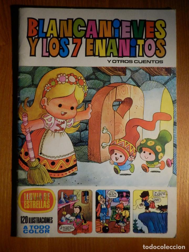 BLANCA NIEVES Y LOS 7 ENANITOS - LLUVIA DE ESTRELLAS - Nº 18 - BRUGUERA (Tebeos y Comics - Bruguera - Otros)