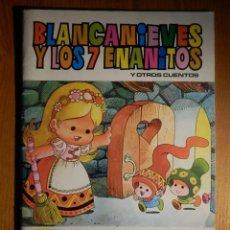 Tebeos: BLANCA NIEVES Y LOS 7 ENANITOS - LLUVIA DE ESTRELLAS - Nº 18 - BRUGUERA. Lote 194739631