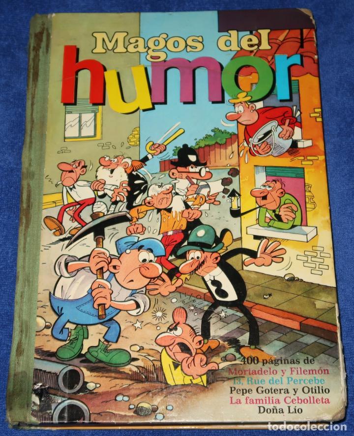 MAGOS DEL HUMOR - VOLUMEN XI - BRUGUERA (1972) (Tebeos y Comics - Bruguera - Otros)