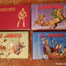 Tebeos: EL COSACO VERDE 2-3 ,EL JABATO TOMOS 3-7 BRUGUERA VER DETALLES Y FOTOGRAFIAS.. Lote 194740222