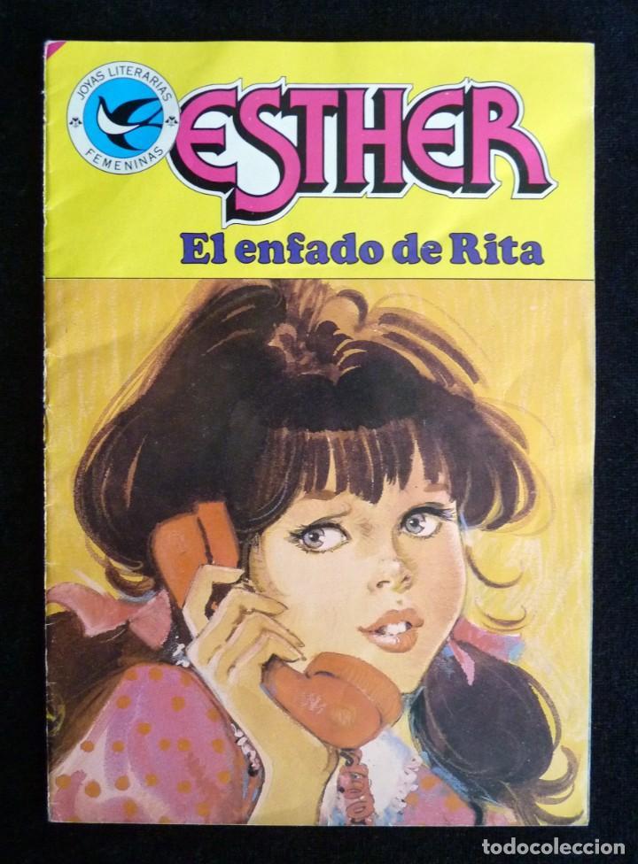 ESTHER. EL ENFADO DE RITA. BRUGUERA, 1985 (Tebeos y Comics - Bruguera - Esther)