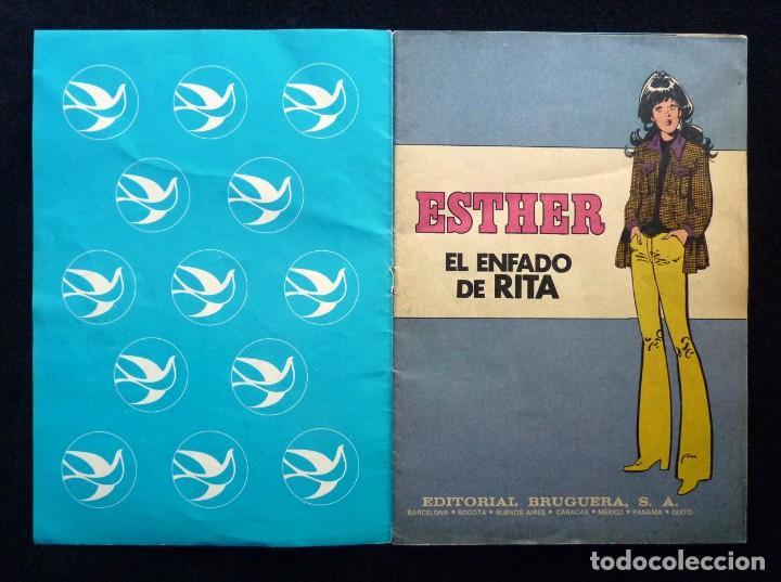 Tebeos: ESTHER. EL ENFADO DE RITA. BRUGUERA, 1985 - Foto 2 - 194747246