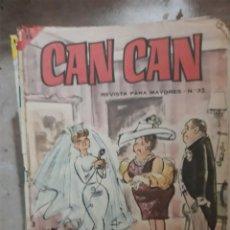 Tebeos: REVISTAS CAN-CAN AÑOS 60. Lote 194755987