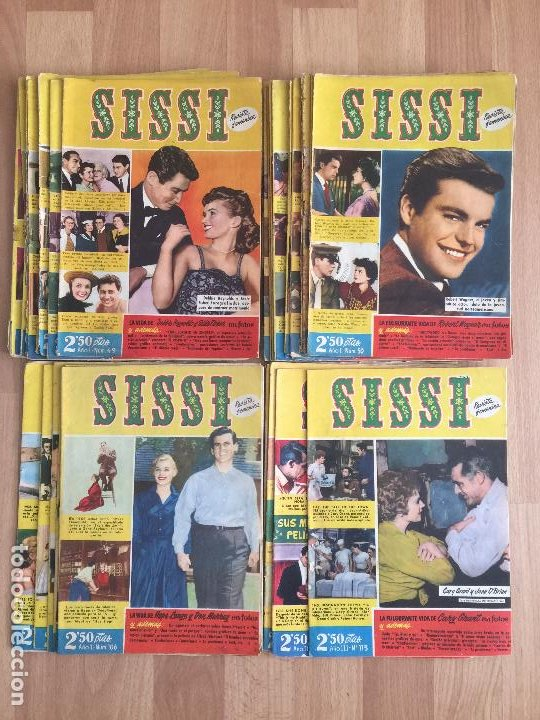 LOTE 35 EJEMPLARES SISSI - BRUGUERA - GCH1 (Tebeos y Comics - Bruguera - Sissi)
