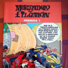 Tebeos: MORTADELO Y FILEMÓN. FÓRMULA 1. EDICIONES B, 2003.. Lote 194763385