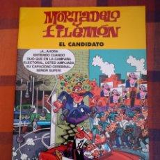 Tebeos: MORTADELO Y FILEMÓN. EL CANDIDATO. EDICIONES B, 2003.. Lote 194763472