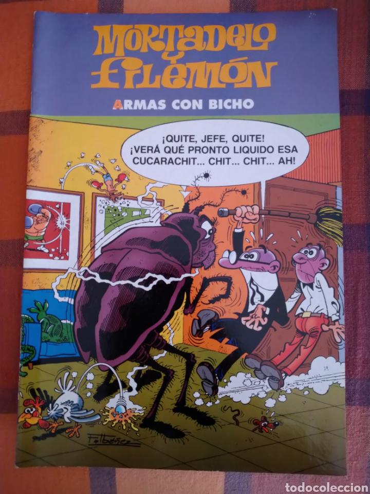 MORTADELO Y FILEMÓN. ARMAS CON BICHO. EDICIONES B, 2003. (Tebeos y Comics - Bruguera - Mortadelo)
