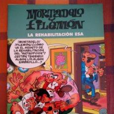Tebeos: MORTADELO Y FILEMÓN. LA REHABILITACIÓN ESA. EDICIONES B, 2003.. Lote 194763886