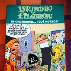 Tebeos: MORTADELO Y FILEMÓN. EL ORDENADOR...¡QUÉ HORROR!. EDICIONES B, 2003.. Lote 194764037