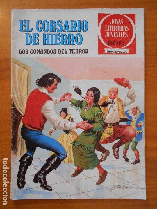 JOYAS LITERARIAS JUVENILES SERIE ROJA Nº 31 - EL CORSARIO DE HIERRO - BRUGUERA (S) (Tebeos y Comics - Bruguera - Corsario de Hierro)