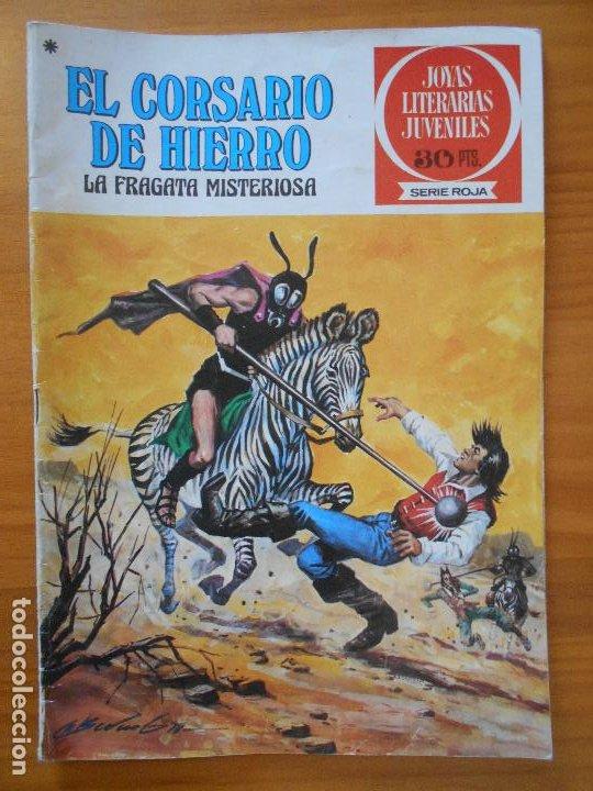 JOYAS LITERARIAS JUVENILES SERIE ROJA Nº 52 - EL CORSARIO DE HIERRO - BRUGUERA (S) (Tebeos y Comics - Bruguera - Corsario de Hierro)