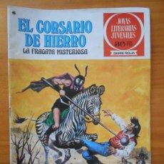 Tebeos: JOYAS LITERARIAS JUVENILES SERIE ROJA Nº 52 - EL CORSARIO DE HIERRO - BRUGUERA (S). Lote 194778815