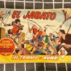 Tebeos: LOTE 12 TEBEOS EL JABATO VER NÚMEROS. Lote 194858946