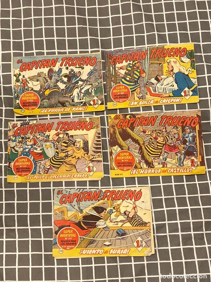 LOTE 5 CAPITÁN TRUENO (Tebeos y Comics - Bruguera - Capitán Trueno)