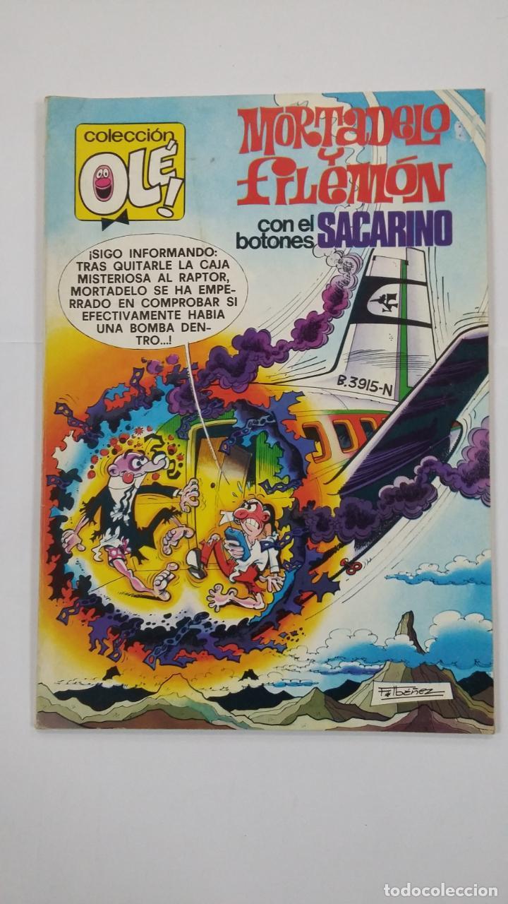 COLECCIÓN OLÉ Nº 165. MORTADELO Y FILEMÓN CON EL BOTONES SACARINO. TDKC48 (Tebeos y Comics - Bruguera - Ole)