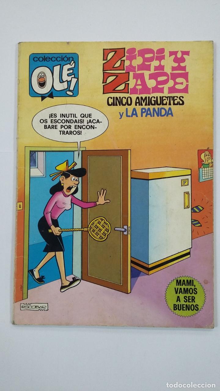OLÉ!. Nº 180. ZIPI Y ZAPE. CINCO AMIGUETES Y LA PANDA. BRUGUERA. TDKC48 (Tebeos y Comics - Bruguera - Ole)