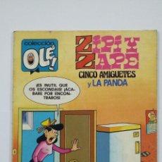 Tebeos: OLÉ!. Nº 180. ZIPI Y ZAPE. CINCO AMIGUETES Y LA PANDA. BRUGUERA. TDKC48. Lote 194865682