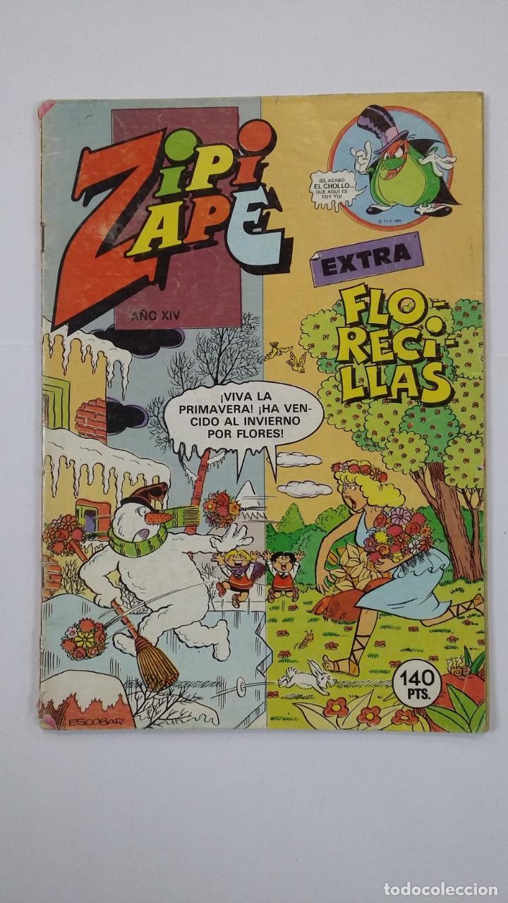 ZIPI Y ZAPE EXTRA FLORECILLAS AÑO XIV Nº 84. TDKC48 (Tebeos y Comics - Bruguera - Otros)