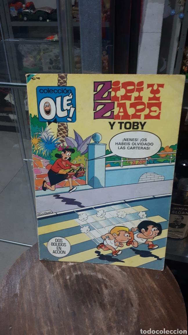 ZIPI Y ZAPE Y TOBY DOS BOLIDOS EN ACCION COLECCION OLE PRIMERA EDICION 1983 (Tebeos y Comics - Bruguera - Ole)