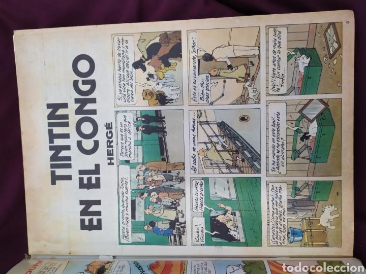 Tebeos: Selecciones de Tintín ,editorial Bruguera num 3 - Foto 3 - 194885891