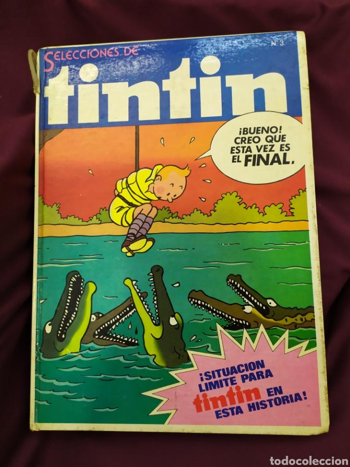 SELECCIONES DE TINTÍN ,EDITORIAL BRUGUERA NUM 3 (Tebeos y Comics - Bruguera - Otros)
