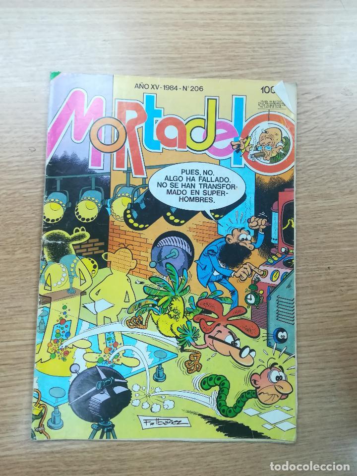 MORTADELO #206 (Tebeos y Comics - Bruguera - Mortadelo)