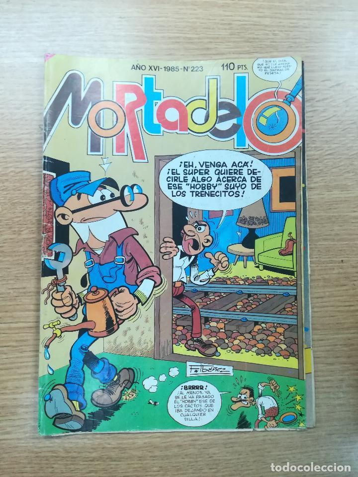 MORTADELO #223 (Tebeos y Comics - Bruguera - Mortadelo)