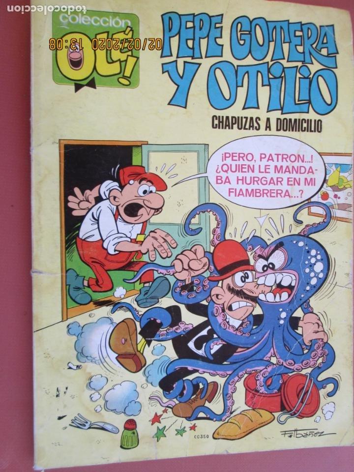 COLECCIÓN OLÉ¡ - PEPE GOTERA Y OTILIO - CHAPUZAS A DOMICILIO - ED. BRUGUERA 3º ED. 1977. (Tebeos y Comics - Bruguera - Ole)