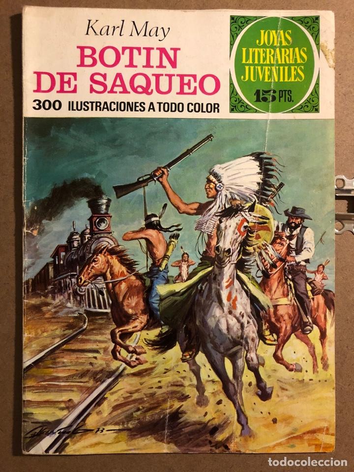 BOTÍN DE SAQUEO. KARL MAY. JOYAS LITERARIAS JUVENILES N° 87 (EDITORIAL BRUGUERA 1973). (Tebeos y Comics - Bruguera - Joyas Literarias)