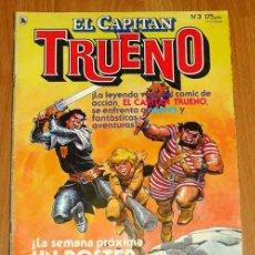 Tebeos: EL CAPITÁN TRUENO [NUEVAS AVENTURAS]. AÑO I ; Nº 3 ; ABRIL DE 1986. Lote 194921905