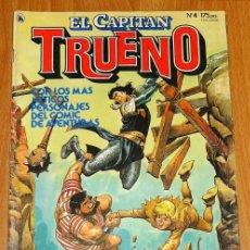 Tebeos: EL CAPITÁN TRUENO [NUEVAS AVENTURAS]. AÑO I ; Nº 4 ; ABRIL DE 1986. Lote 194921938