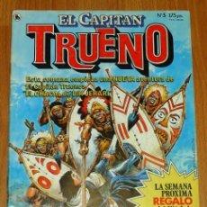 Tebeos: EL CAPITÁN TRUENO [NUEVAS AVENTURAS]. AÑO I ; Nº 5 ; ABRIL DE 1986. Lote 194921966