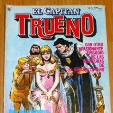Tebeos: EL CAPITÁN TRUENO [NUEVAS AVENTURAS]. AÑO I ; Nº 6 ; ABRIL DE 1986. Lote 194922003