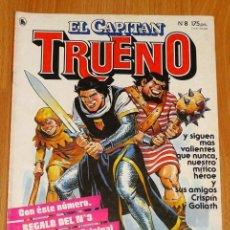 Tebeos: EL CAPITÁN TRUENO [NUEVAS AVENTURAS]. AÑO I ; Nº 8 ; ABRIL DE 1986. Lote 194922062