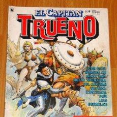 Tebeos: EL CAPITÁN TRUENO [NUEVAS AVENTURAS]. AÑO I ; Nº 9 ; MAYO DE 1986. Lote 194922155