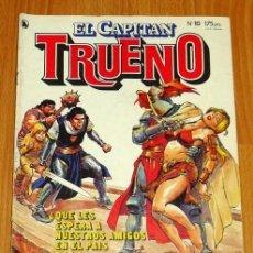 Tebeos: EL CAPITÁN TRUENO [NUEVAS AVENTURAS]. AÑO I ; Nº 10 ; MAYO DE 1986. Lote 194922188