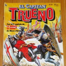 Tebeos: EL CAPITÁN TRUENO [NUEVAS AVENTURAS]. AÑO I ; Nº 11 ; MAYO DE 1986. Lote 194922221