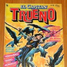 Tebeos: EL CAPITÁN TRUENO [NUEVAS AVENTURAS]. AÑO I ; Nº 12 ; MAYO DE 1986. Lote 194922286