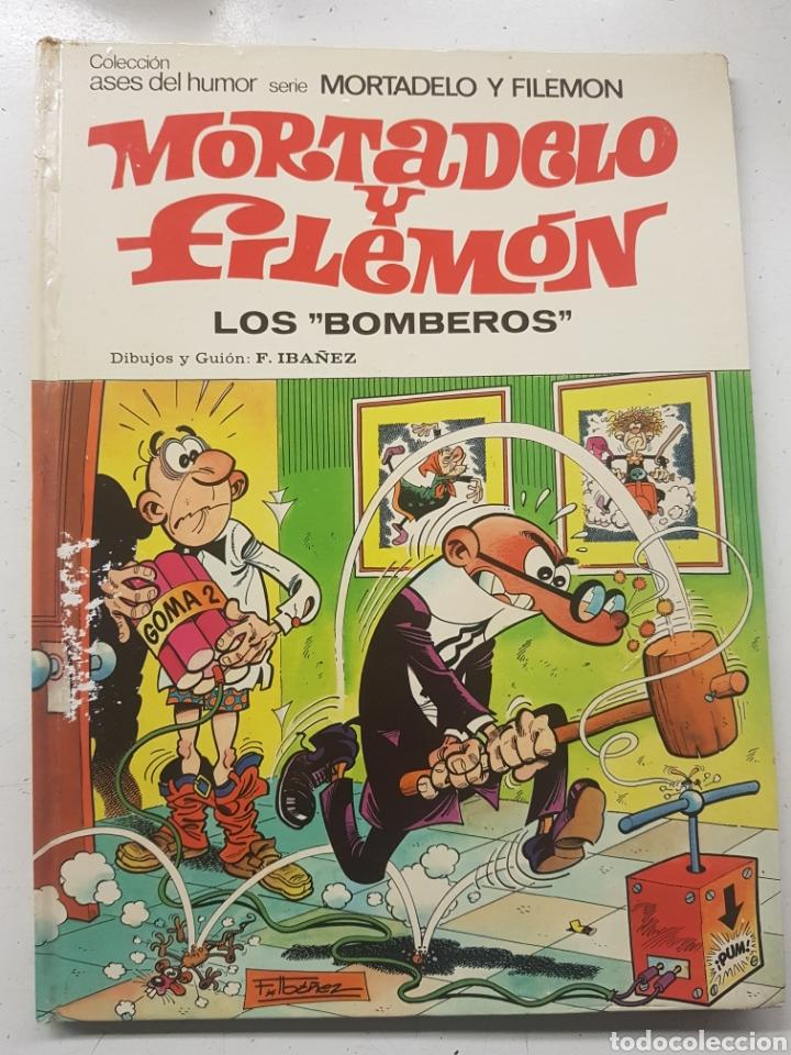 MORTADELO Y FILEMÓN LOS BOMBEROS ASES DEL HUMOR N° 37 (Tebeos y Comics - Bruguera - Mortadelo)