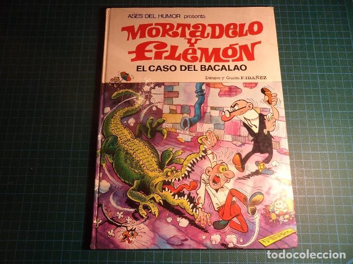 ASES DEL HUMOR. Nº 5. EL CASO DEL BACALAO. 2ª EDICIÓN 1979. (M-1) (Tebeos y Comics - Bruguera - Ole)