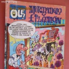 Tebeos: COLECCIÓN OLÉ¡ - MORTADELO Y FILEMÓN - FESTIVAL DE CARCAJADAS - ED. BRUGUERA 1977. . Lote 194945546