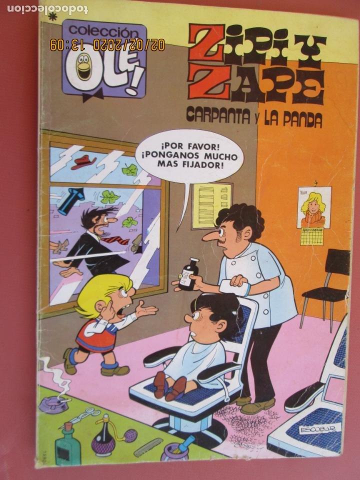 COLECCIÓN OLÉ! - ZIPI Y ZAPE - CARPANTA Y LA PANDA - ED. BRUGUERA 1ª ED. 1979. (Tebeos y Comics - Bruguera - Ole)