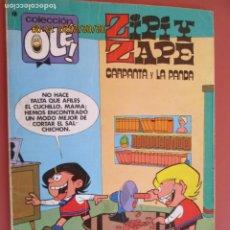 Tebeos: COLECCIÓN OLÉ! - ZIPI Y ZAPE - CARPANTA Y LA PANDA - ED. BRUGUERA 1º ED. 1979. . Lote 194948362